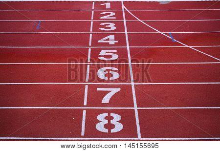 Running Race Track, sport background run track