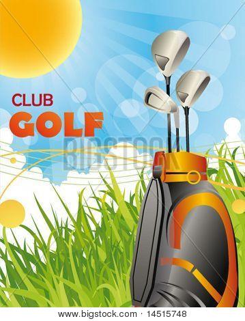 golf club poster