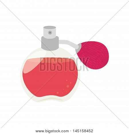 fragance aroma bottle scent isolated vector illustration eps 10