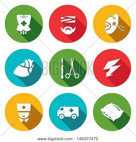 Pipette, Disabled, Oxygen, Organ, Surgery tools Electroshock Doctor Transport Hospital Bed