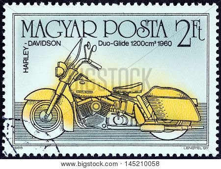 HUNGARY - CIRCA 1985: A stamp printed in Hungary from the from the
