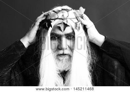 Zeus Man In Wig