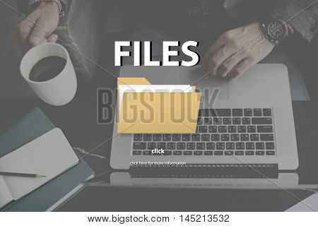Files Index Content Details Document Archives Concept