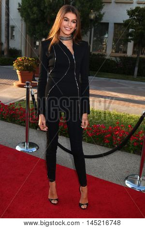 LOS ANGELES - AUG 31:  Kaia Gerber at the