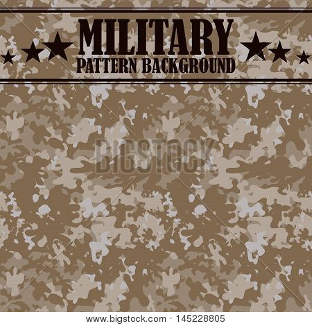Camouflage seamless pattern. Four colors. Military print