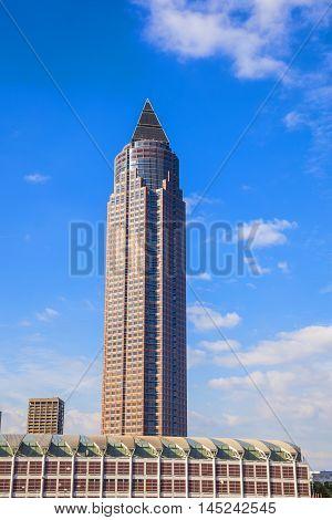Messeturm - Fair Tower Of Frankfurt