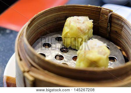 dim sum Type of Chinese Steamed Dumpling