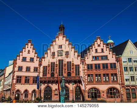 Frankfurt City Hall Hdr