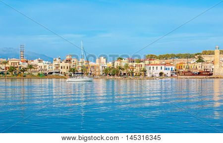 The best way to discover Rethymno and coastal villages of Crete is to take a yacht and enjoy the picturesque trip Greece.