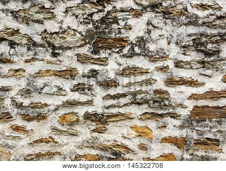 Stone wall texture or background
