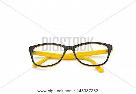 fashion intelligent glasses on a white background
