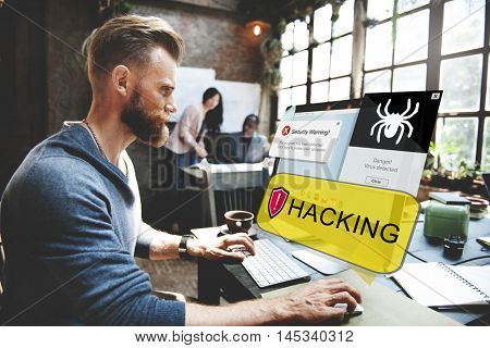 Technology Hack Hacking Computer Device Concept