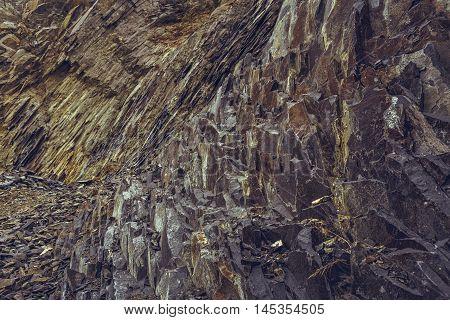 Abandoned Basalt Quarry