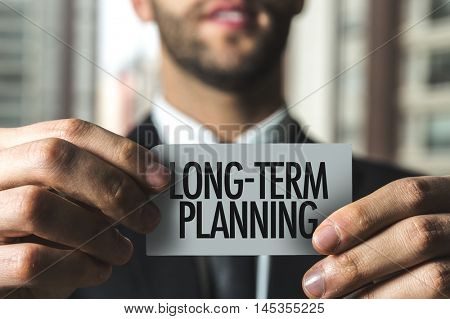 Long-Term Planning