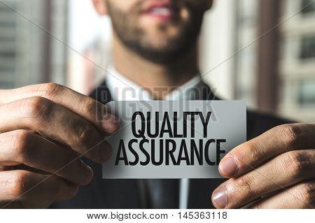 Quality Assurance text