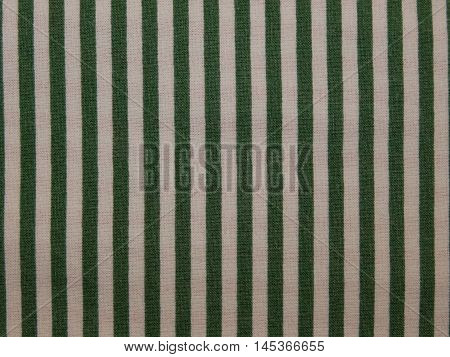 striped fabric , white fabric texture green stripes closeup