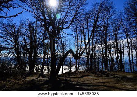 Noche misteriosa en la hermosa Patagonia Argentina