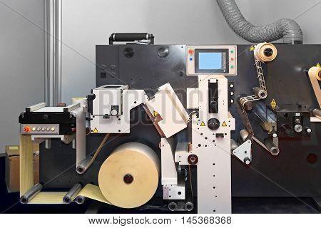 Digital Converting Machinery Equipment in Printing Office