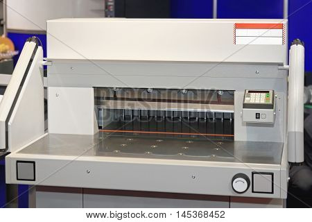 Paper Cutting Machine Tool in Printing Office