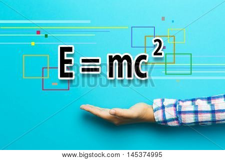 Mass-energy Equivalence Concept With Hand