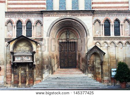 San Fermo Maggiore Church, Verona, Italy