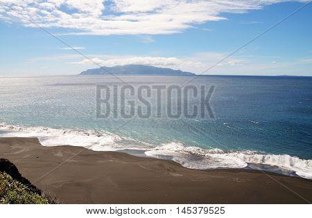 Fonti Di Billa, With Its Constant Fierce Waves