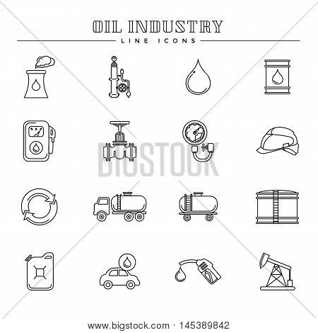 Modern lined style icons, perfect for your branding, web, print or infographic design project.