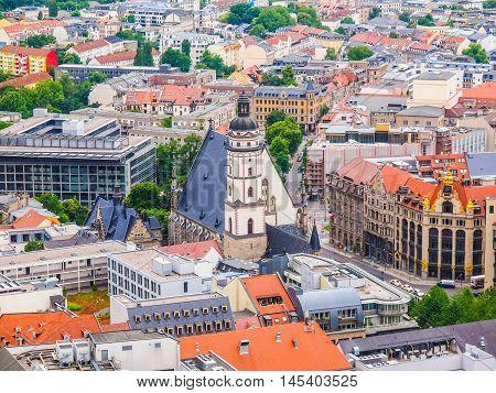 Leipzig Aerial View Hdr