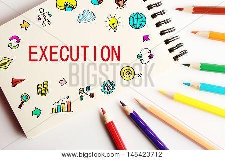 Execution Business Concept