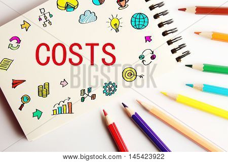 Costs Business Concept