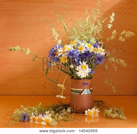 Beautiful Bouquet Of Wild Flowers