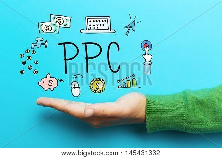 Ppc Concept With Hand