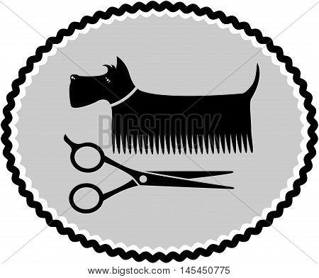 Dog Haircut Sign