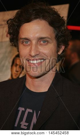 Robert Patrick Benedict at the Los Angeles premiere of 'Waiting' held at the Mann Bruin Theater in Westwood, USA on September 29, 2005.