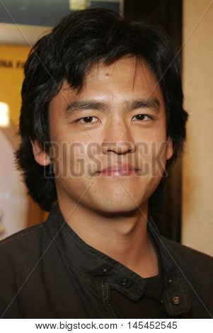 John Cho at the Los Angeles premiere of 'Waiting' held at the Mann Bruin Theater in Westwood, USA on September 29, 2005.