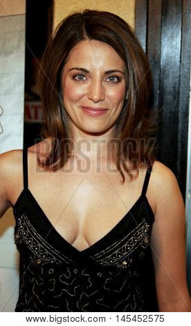 Alana Ubach at the Los Angeles premiere of 'Waiting' held at the Mann Bruin Theater in Westwood, USA on September 29, 2005.