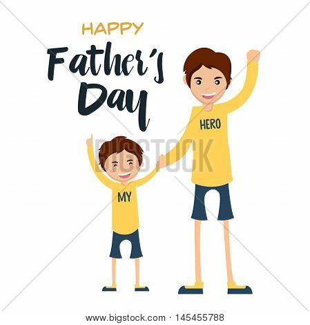 Happy Father's Day Card - Together We Can