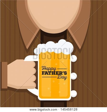 Happy Father's Day Card - You Deserve A Cold Beer