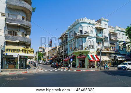 Allenby Street, Tel-aviv