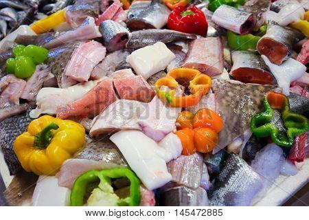 Assortment Of Fresh Fish