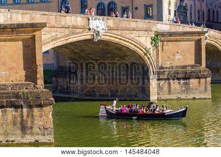 Ponte Santa Trinita In Florence