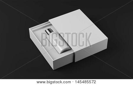 White Bottle Of Perfume