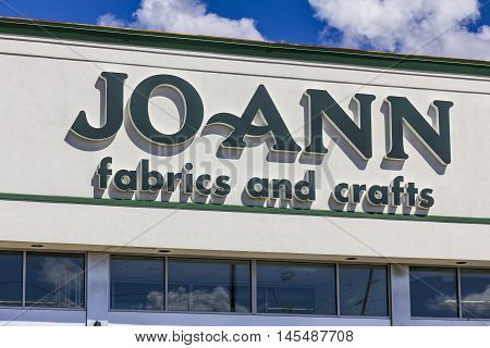 Indianapolis - Circa September 2016: Joann Fabrics And Crafts Retail Location. Jo-ann Stores, Inc. I
