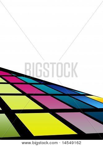 Futuristic Tiled Background