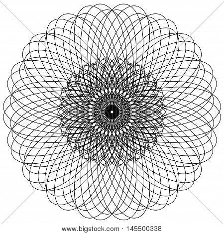 Mandala. Round Ornament Pattern. Ethnic ornament. Floral circular mandala.