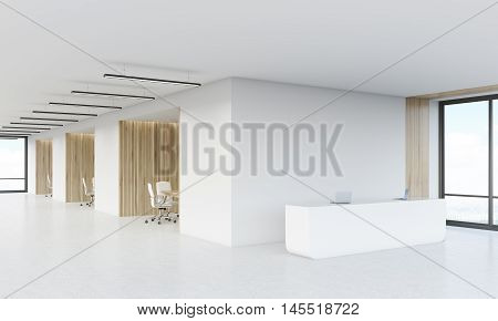 Meeting Rooms And Reception Counter