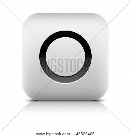Media Player Icon With Record Sign