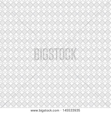 Seamless pattern. Abstract small textured background. Monochrome classical texture with small rhombuses. Regularly repeating geometrical ornament. Web page backdrop wrapping paper surface