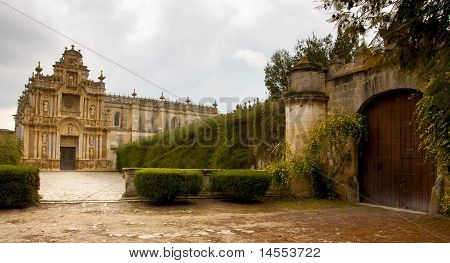The Courtyad Of The Carthusian Of Jerez