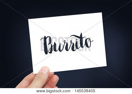 Burrito concept